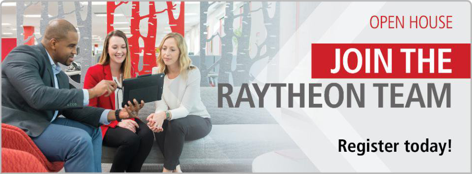 Raytheon is Hiring! New Careers Start Here - Join the Raytheon team.