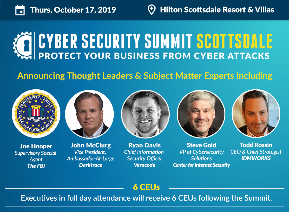 Complimentary Admission to the Cyber Security Summit