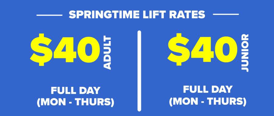 Springtime Rates