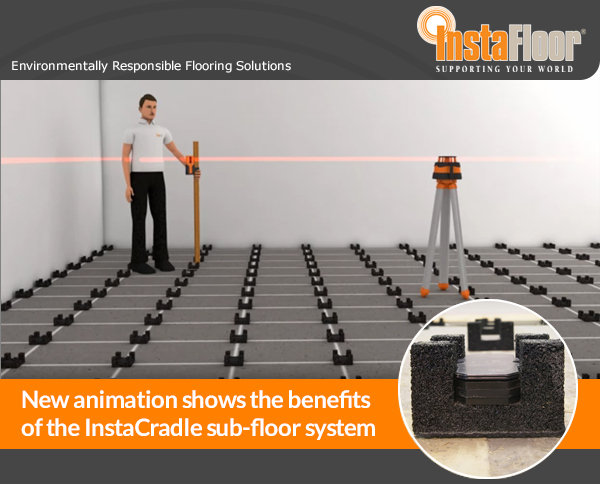 Instafloor Has Created A New Video Animation Which Ilrates The Benefits Of Its High Acoustic Performance Instacradle Sub Floor System